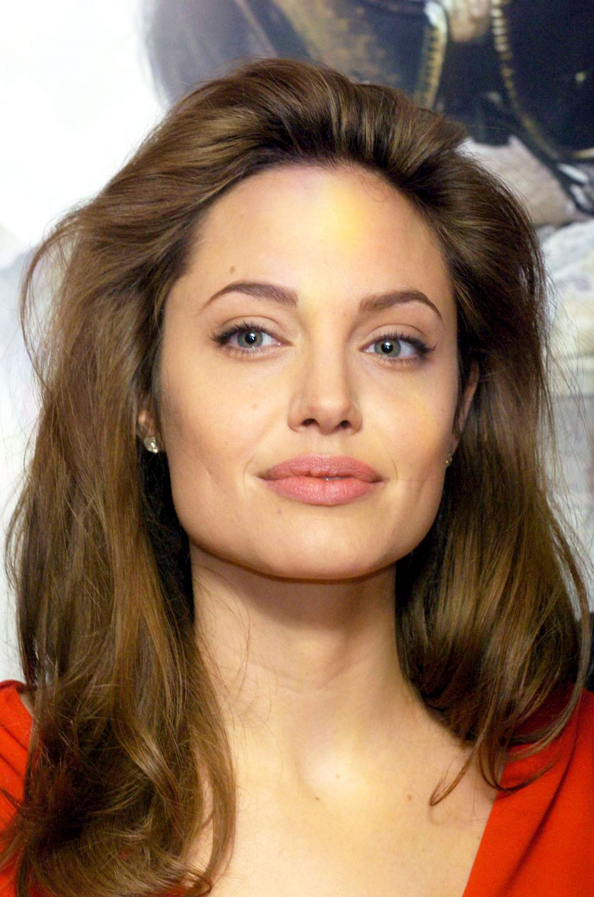 Angelina Jolie At Alexander Photocall At The Dorchester