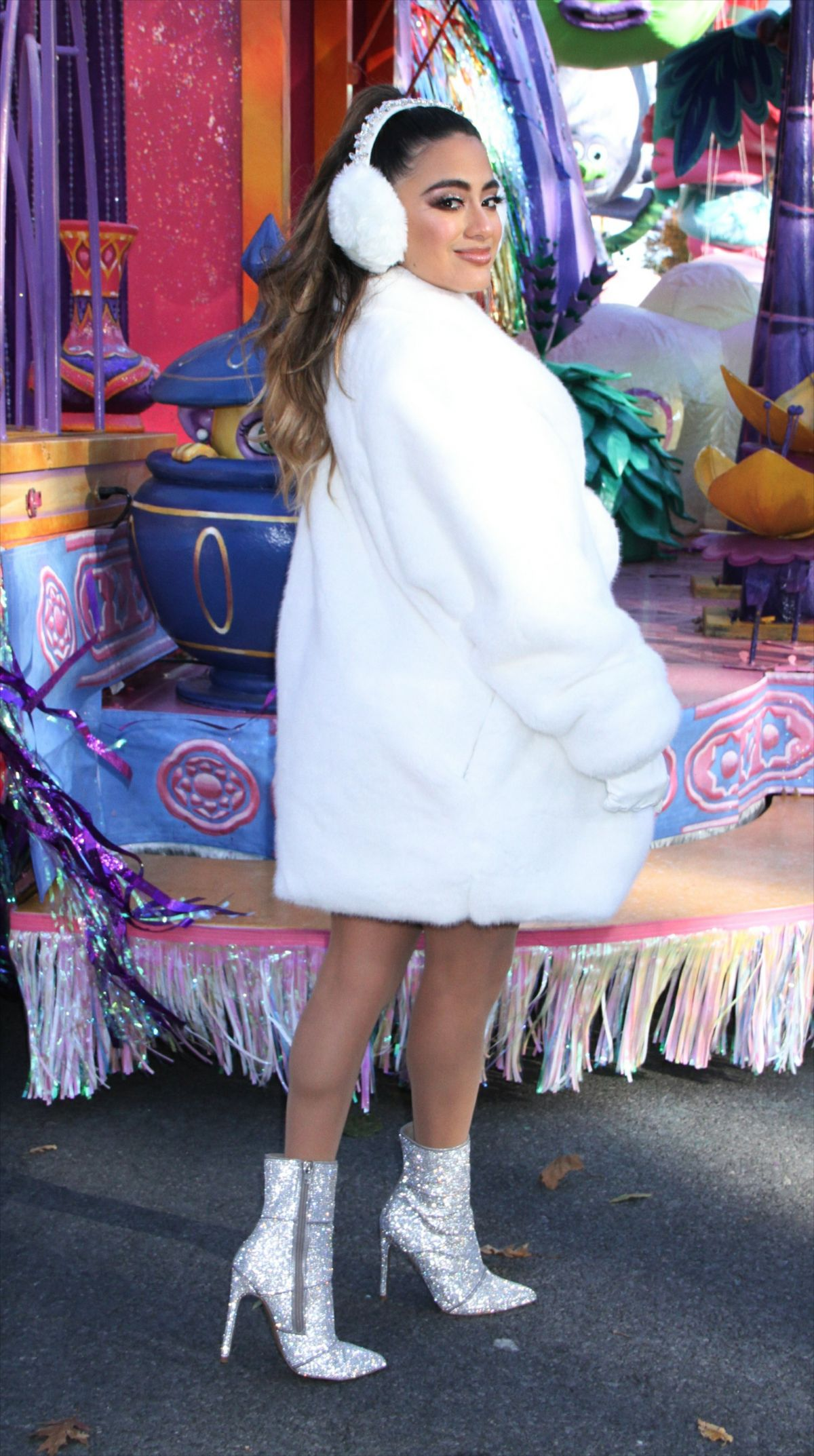 Ally Brooke At 92nd Annual Macy S Thanksgiving Day Parade