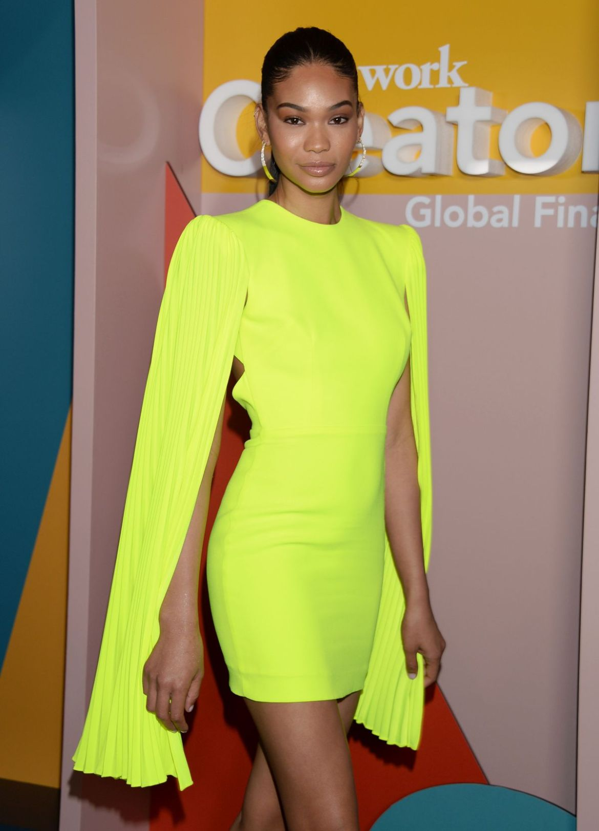 Chanel Iman At WeWork Creator Awards Los Angeles