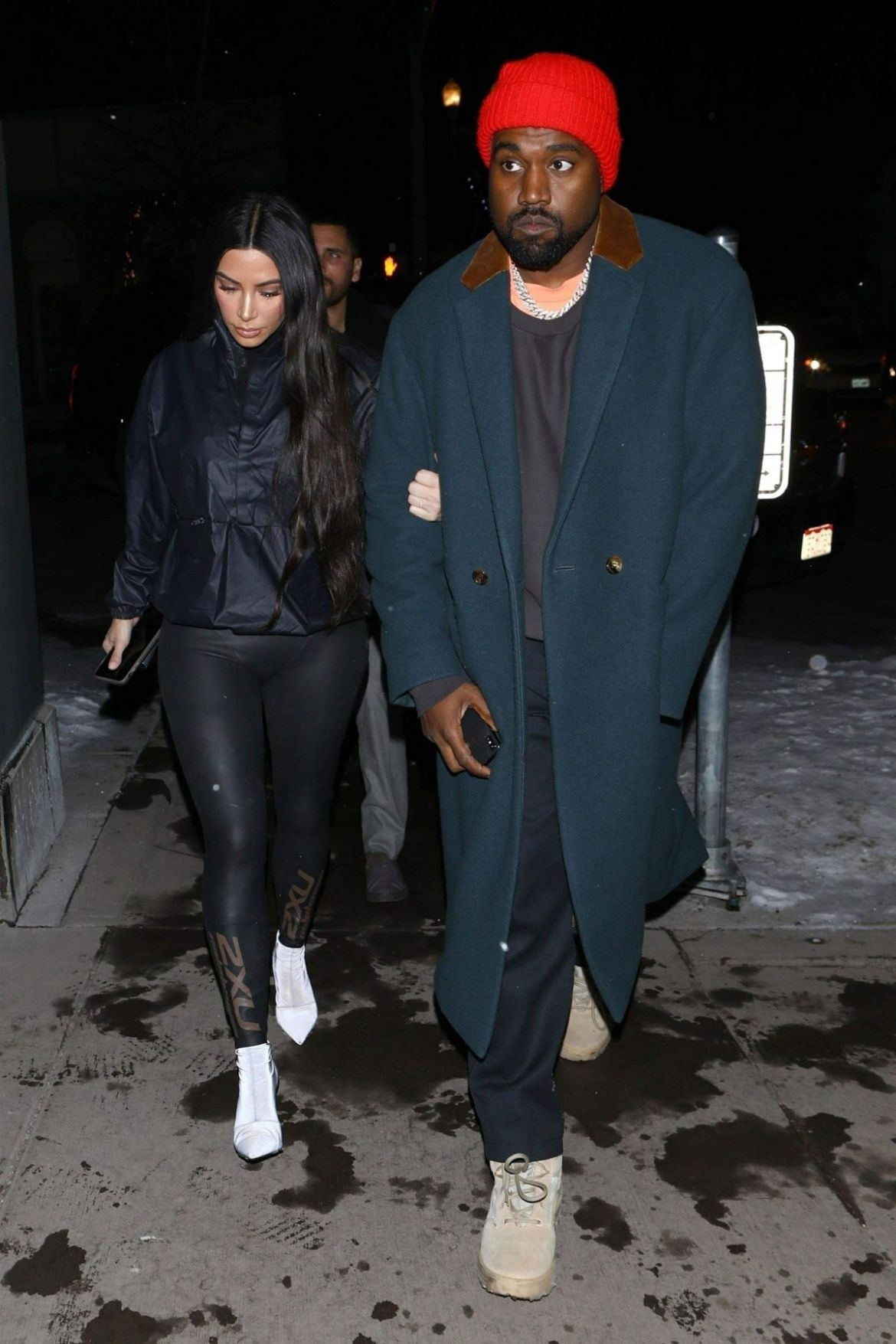 Kim, Kourtney Kardashian and Sofia Richie At matsuhisa restaurant in Aspen