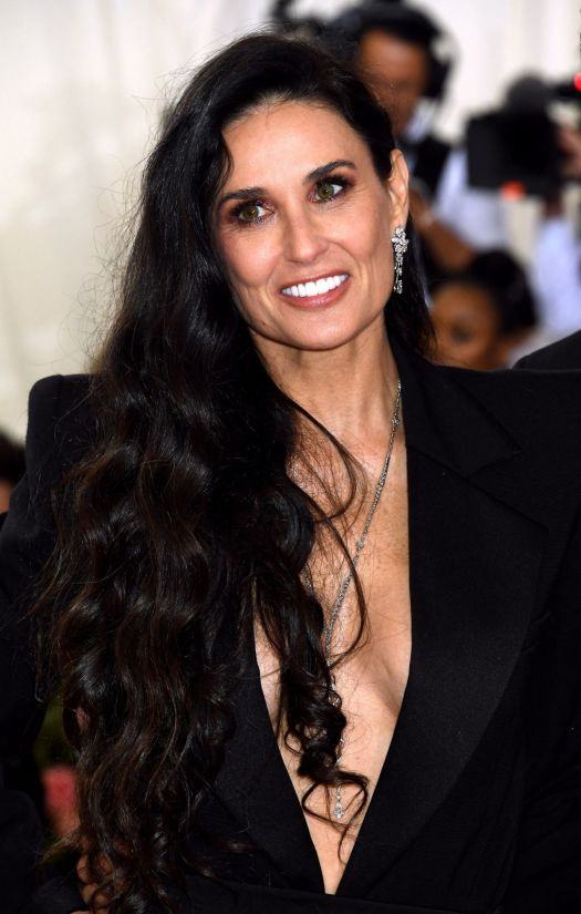 Demi Moore Attending the Metropolitan Museum of Art ...