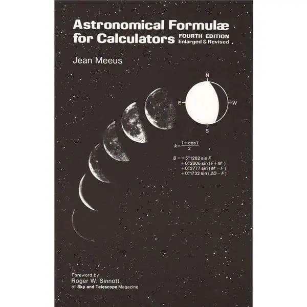Astronomical Formulae For Calculators