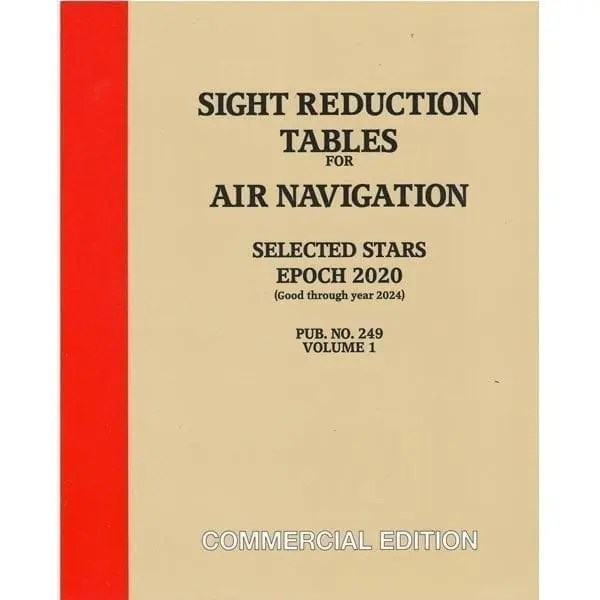 HO-249 Air Navigation Volume 1 Selected Stars – Epoch 2020