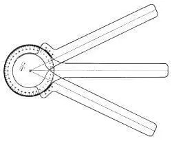 3-Arm Protractor