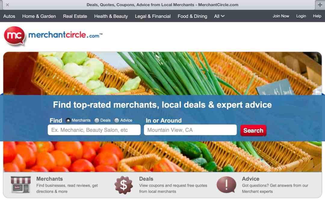 Small Business Marketing Service: MerchantCircle