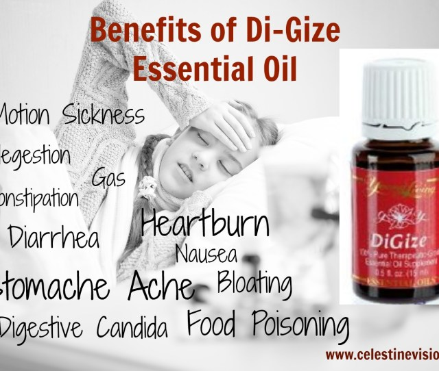 Benefits Of Digize Essential Oil