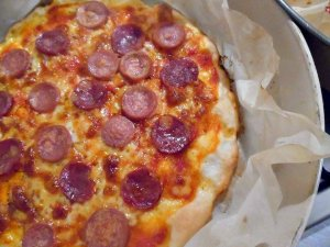 pizza come in pizzeria senza glutine