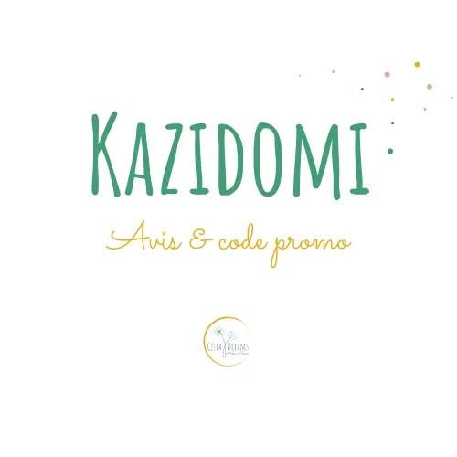 Kazidomi: avis et code promo