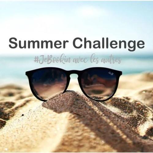 Participez au Summer Challenge du club de lecture #JeBookin