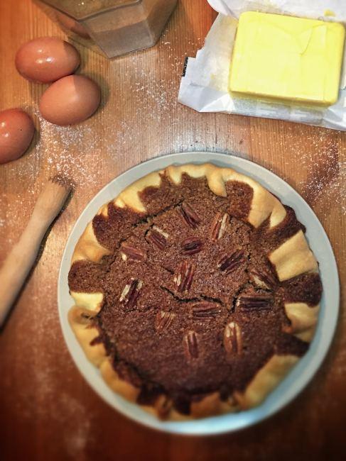 Recette facile et rapide de la tarte au noix de pécan traditionnelle américaine (pecan pie)