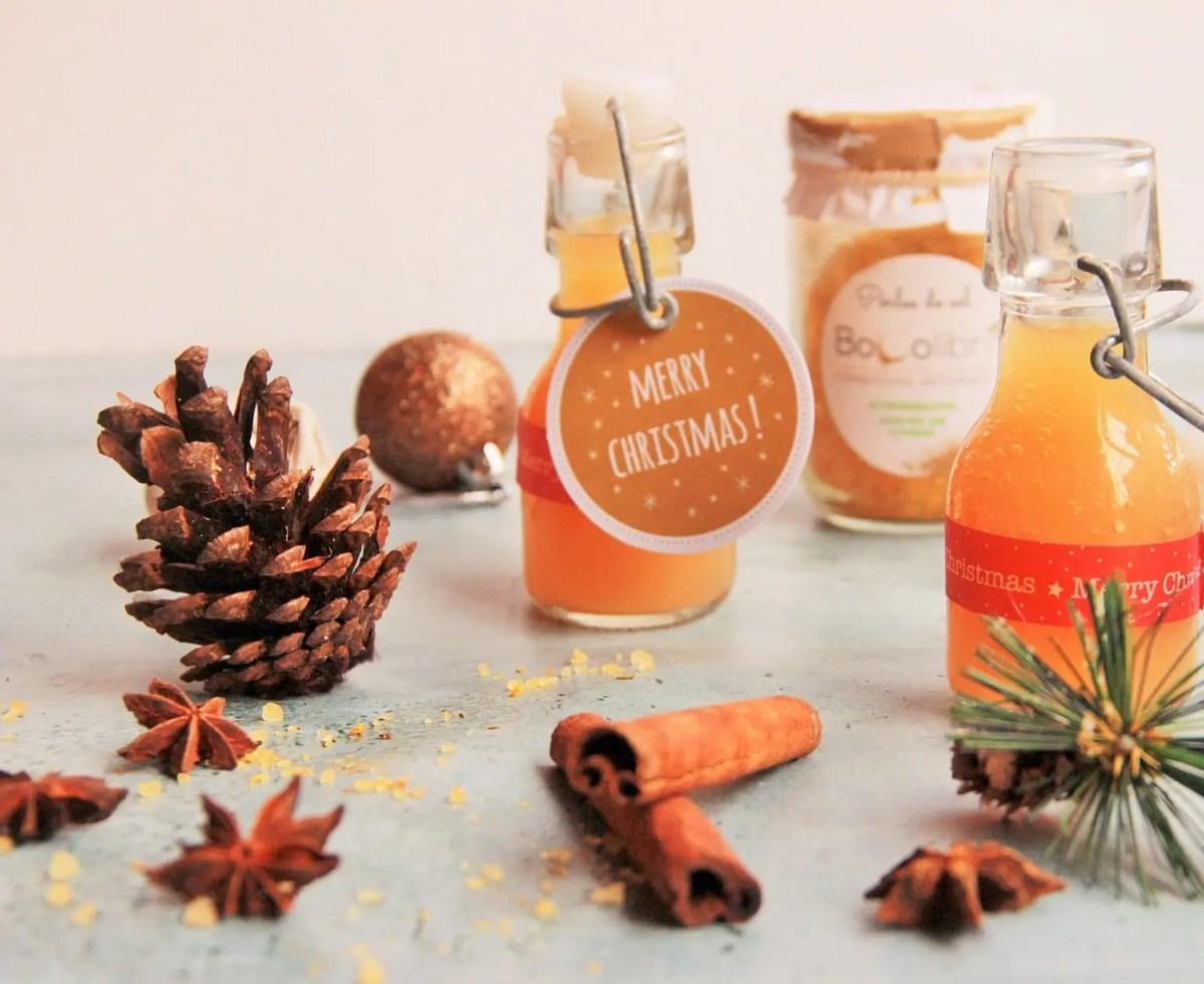 DIY – Huile aromatisée au citron & basilic : un cadeau gourmand et personnalisé à offrir pour les fêtes !