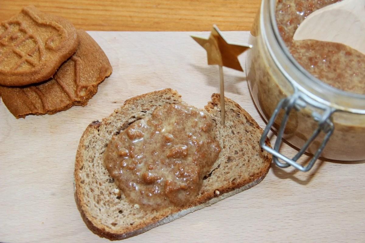 """Pâte à tartiner au spéculoos """"maison"""": ma recette express et totalement addictive!"""