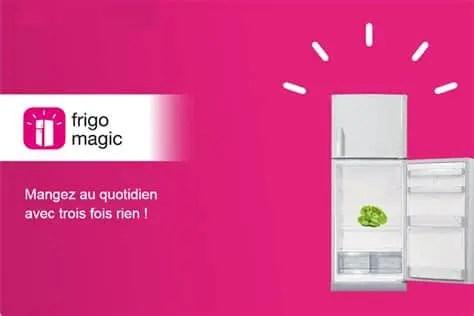 Frigo Magic: l'application pour cuisiner les restes dans votre frigo