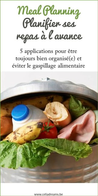 Eviter le gaspillage alimentaire avec le meal planning