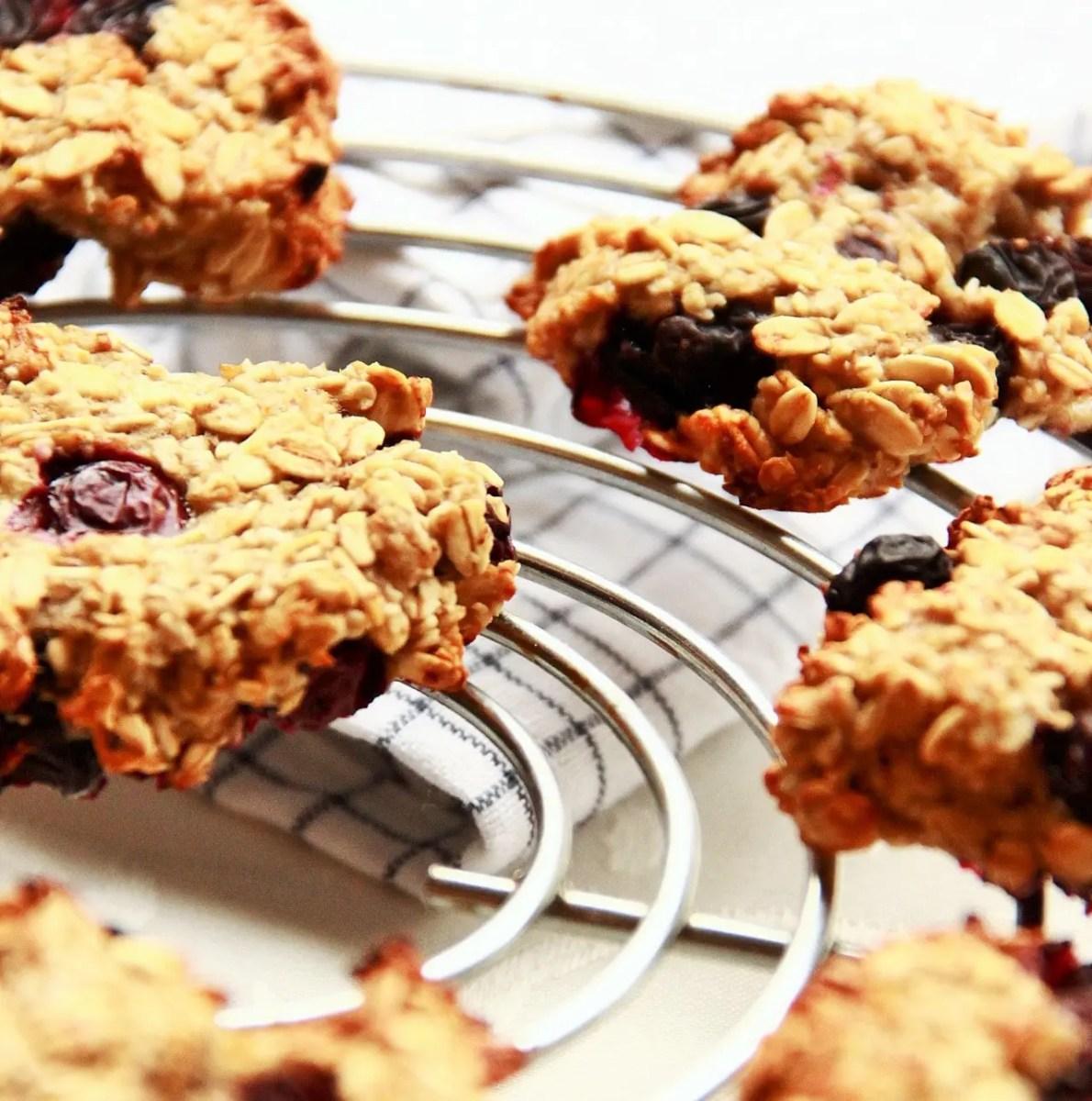 Cookies healthy aux 3 ingrédients pour un petit-déjeuner ultra sain