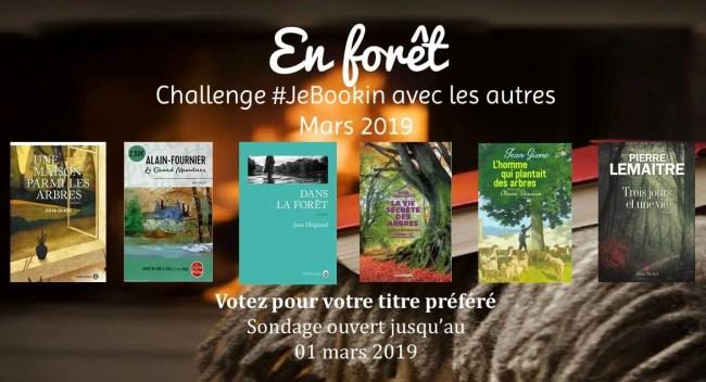 Challenge #JeBookin avec les autres mars 2019: En forêt