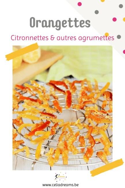 Orangettes: recette facile et zéro déchet (écorces d'orange confites)