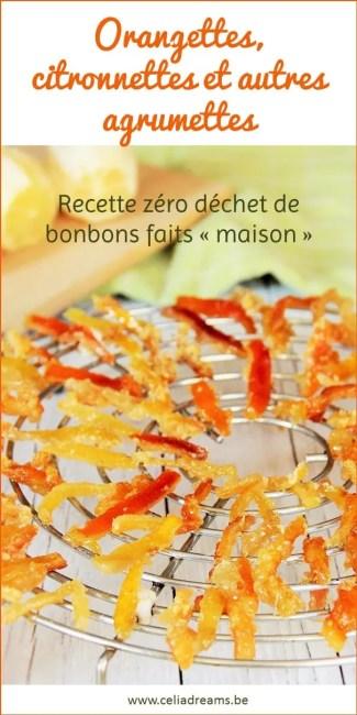 Ecorces d'orange confites: recette facile et rapide qui vous permettra de recycler désormais vos épluchures d'oranges et de citrons pour en faire de délicieuses friandises « maison ».