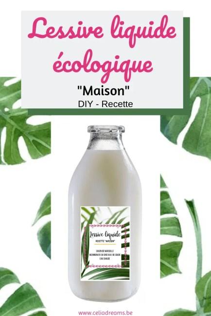 DIY lessive liquide écologique « maison »: recette zéro déchet + astuces et conseils pour un linge propre naturellement