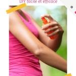 """Recette de spray anti-moustique naturel """"maison"""" (DIY)"""
