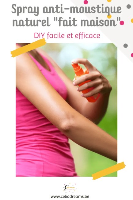"Recette de spray anti-moustique naturel ""maison"" (DIY)"
