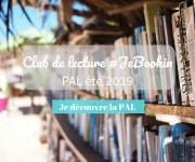 Club de lecture #JeBookin - PAL été 2019