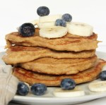 Pancakes sains à la banane et aux flocons d'avoine, recette rapide et facile