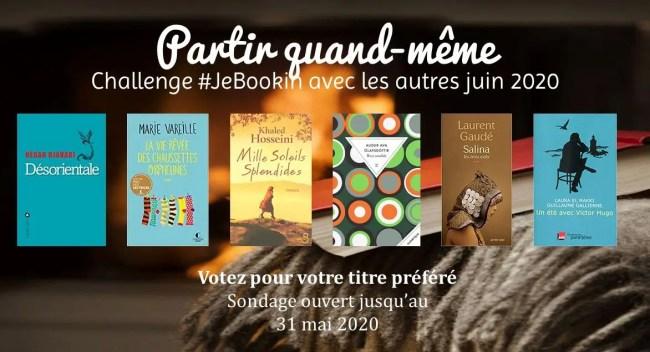 Challenge #Jebbokin: lecture commune du club de lecture (juin 2020)