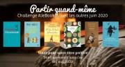 Challenge #JeBookin avec les autres #23 (juin 2020)