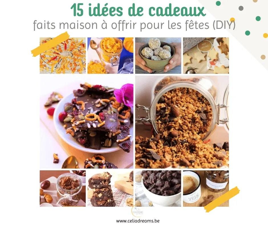15 Idees De Cadeaux Gourmands Faits Maison Faits Main Diy