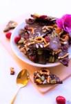 """Recette de mendiants """"maison"""" (chocolat et fruits secs)"""