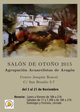 Cartel anunciador expo Otoñó