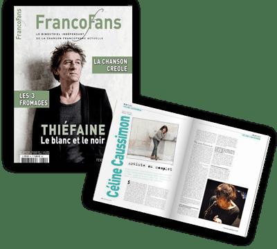 article dans Francofans de Céline Caussimon