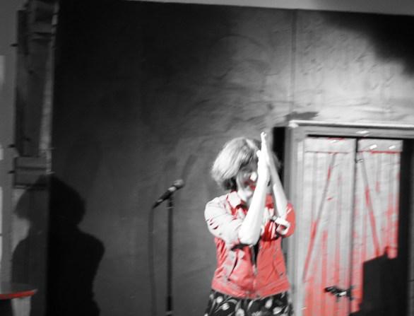 céline Caussimon en concert