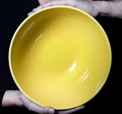 saladier jaune