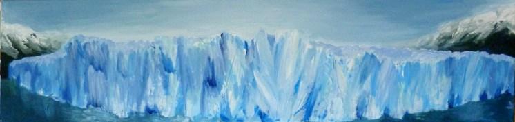 Glaciar -acri-20x80-2011