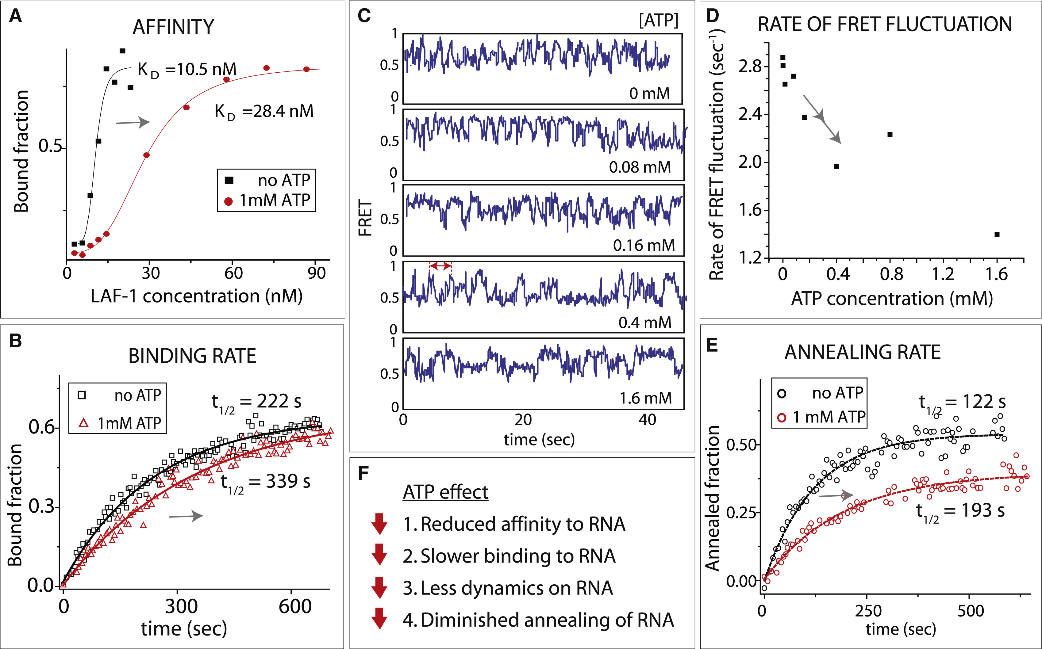 Rna Remodeling Activity Of Dead Box Proteins Tuned By Protein Concentration Rna Length And Atp