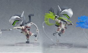 Your Nendoroid collection just got a little bigger with Genji and Hanzo