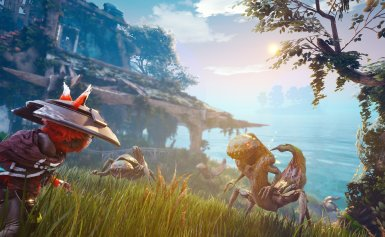 Biomutant looks weird as hell and I'm really into it