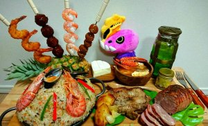 Monster Hunter food in real life looks pretty incredible