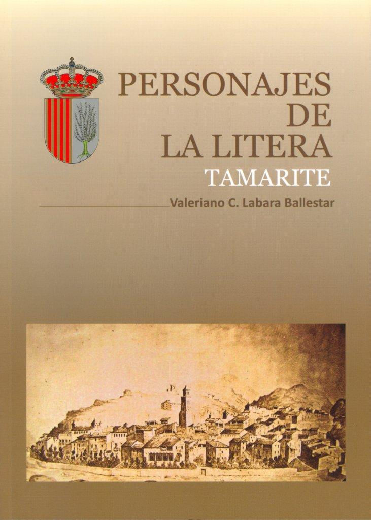 Primera de cubierta del libro 'Personajes de la Litera. Tamarite'