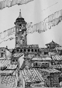 Binéfar (plumilla de Fernando Alvira)