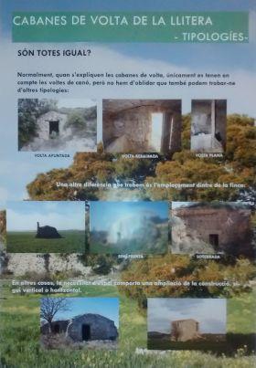 <i>Cabanes de volta de la Llitera: tipologies</i> (infografía de Laia Brualla)