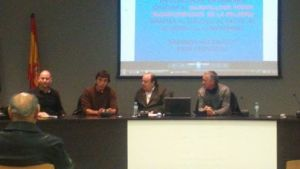 Presentación de la conferencia «El pasado y el futuro del Canal de Aragón y Cataluña»