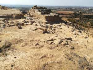 Els Castellassos: vista general de la zona excavada (foto Juan Rovira)