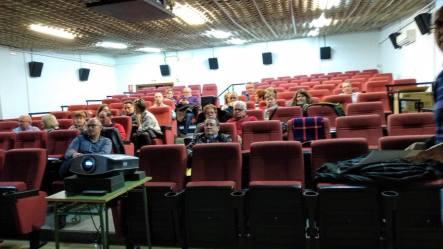Asistentes a la conferencia «La naturaleza como emoción»