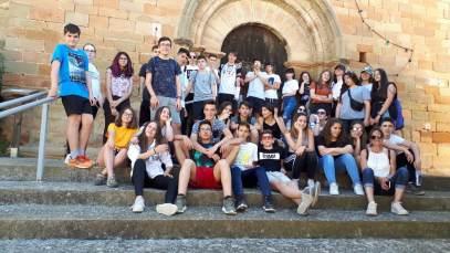 Foto de grupo, en Calasanz (foto Paco Murillo)