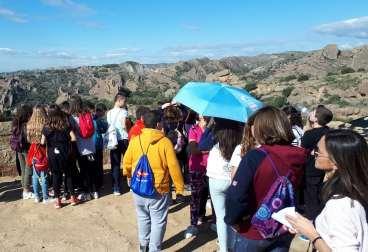 En el yacimiento de Els Castellassos (foto Paco Murillo)