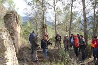 Visita de campo a la mina de sal de Estopiñán (foto Imma Gracia / La Litera información)