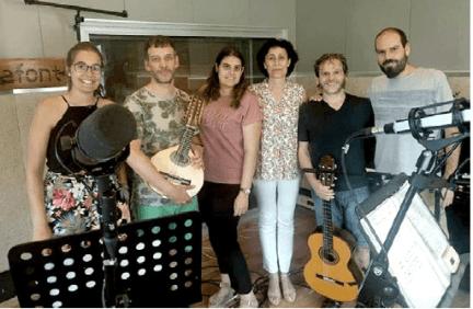 """Músicos Libro-CD """"Música antigua y tradicional en la comarca de La Litera"""""""